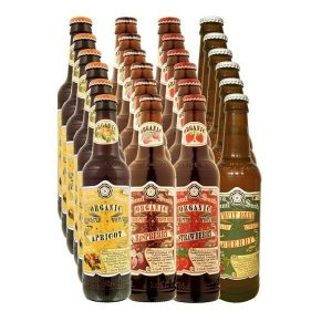 Organic Fruit Beer Case 24x33.5cl