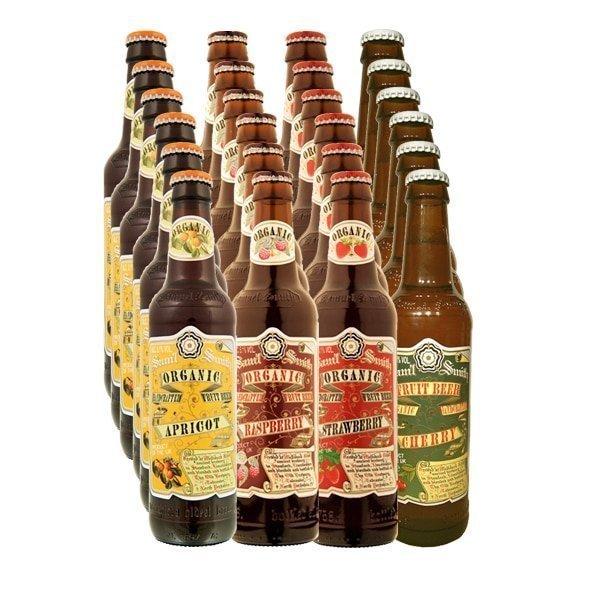 Organic Fruit Beer Case 24x33.5cl