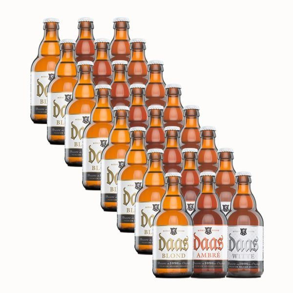 Daas Beers Mixed Case 24x33cl