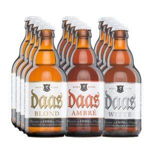 Daas Beers Taster Case 12x33cl