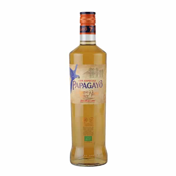 Spiced Golden Rum 'Papagayo'