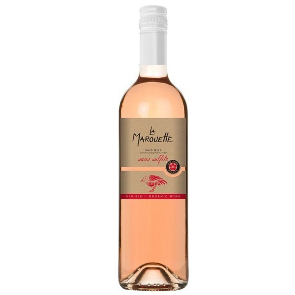 Sans Sulfite Rosé La Marouette - no sulphur added rosé